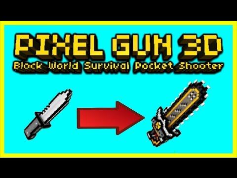 pixel gun 3d dual machete