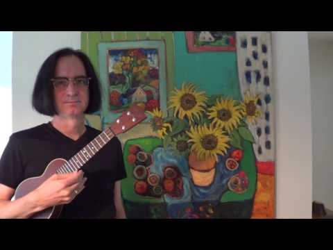 How to Hold a Ukulele for Guitarists (males)