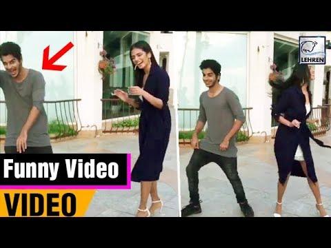 Ishaan Khatter & Malavika Mohanan's Boomerang Video Goes Wrong | LehrenTV