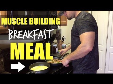 """""""Muscle Building Breakfast Meal"""" Burn Belly Fat and Build Muscle"""