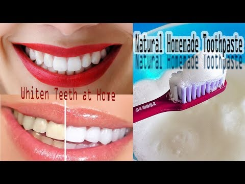 Natural Ways to Whiten Teeth at Home ||  how to make teeth white