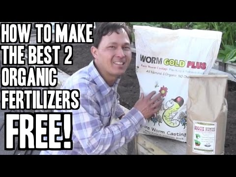 Best 2 Homemade Organic Fertilizers Anyone Can Make FREE