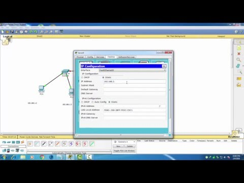 how to configure email server in packet tracer