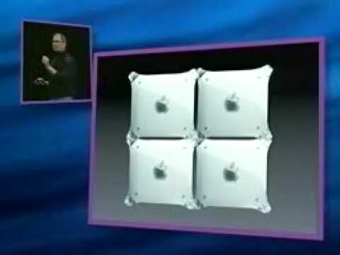 Macworld New York 2000-The G4 Cube Introduction