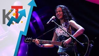 Noielle Rodriguez performs Stone Cold for her blind audition in The Voice Teens