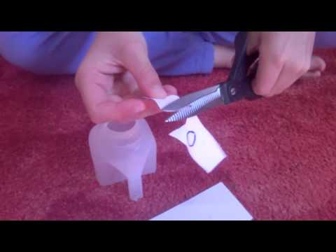 DIY  How To Make An Elephant Out Of A Milk Bottle