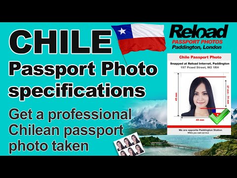 Chilean Passport Photo and Visa Photo specifications for Chile