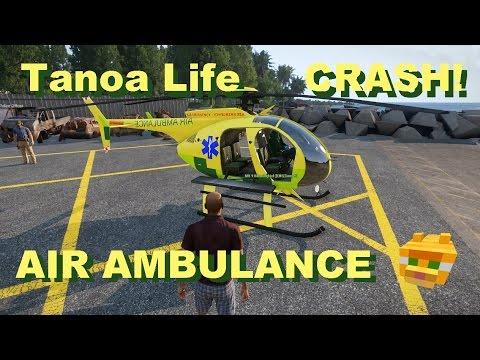 Helicopter Acrobatics and Air Ambulance crash !