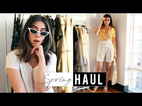 Spring 2018 Haul + 10 Vacay Outfits I'm Packing in a Carry-On Case!