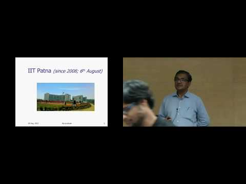 Opportunities in a Young IIT - A Talk by Prof. Pushpak Bhattacharyya