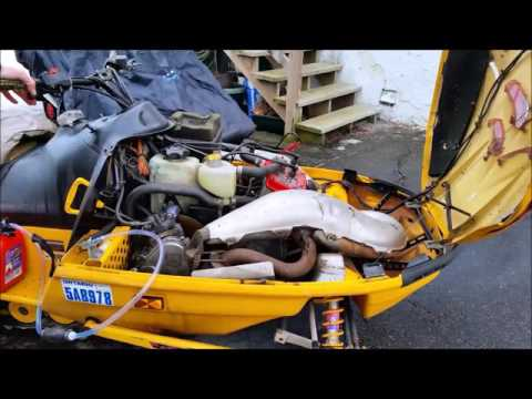 1997 Ski doo  MXZ 583 engine   *First Fire Up in 3.5 years*