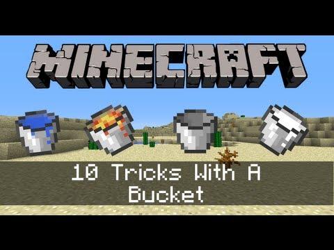 10 Tricks With A Minecraft Bucket