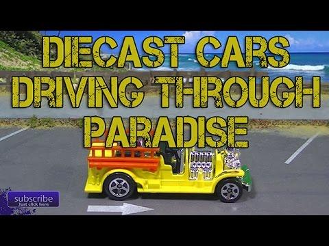 Older Diecast Cars Driving Through Paradise Episode 510