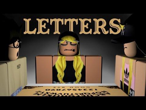 Letters | Roblox Horror Movie | Ouija Board