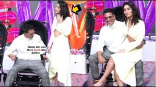 Akshay Kumar Makes Kareena Kapoor SIT On His Lap While Taking Video At Good Newwz Trailer Launch