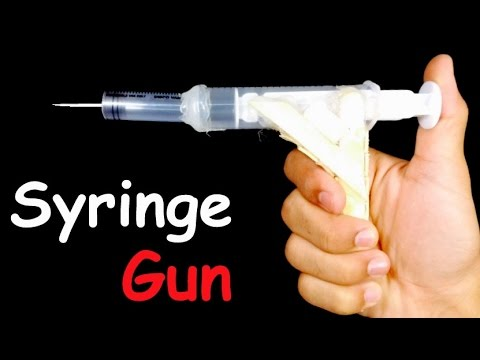 How to Make AIR GUN that Shoots | HomeMade Gun