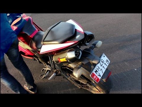 Yamaha R15 V 2.0 modified with 2 Exhaust / Awesome Sound