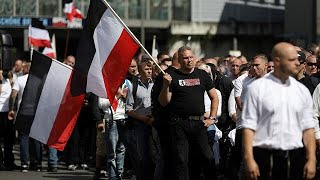 German neo-Nazis rally to mark death of Rudolf Hess