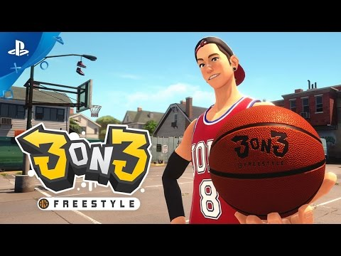 3on3 Freestyle - Open Beta Trailer | PS4