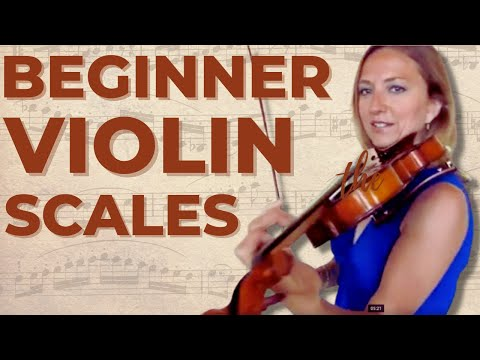 How to Play Beginner Violin Scales