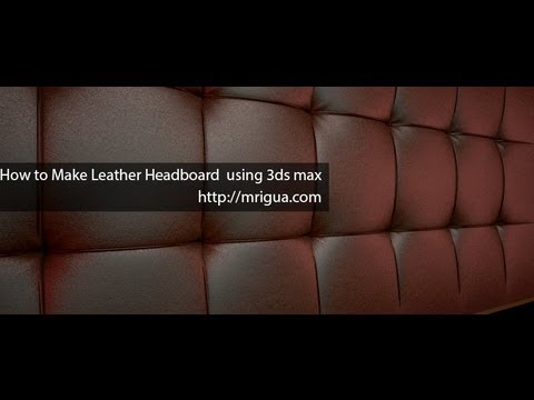 How to Make Leather Headboard
