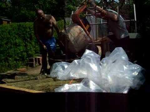 cement mixer -