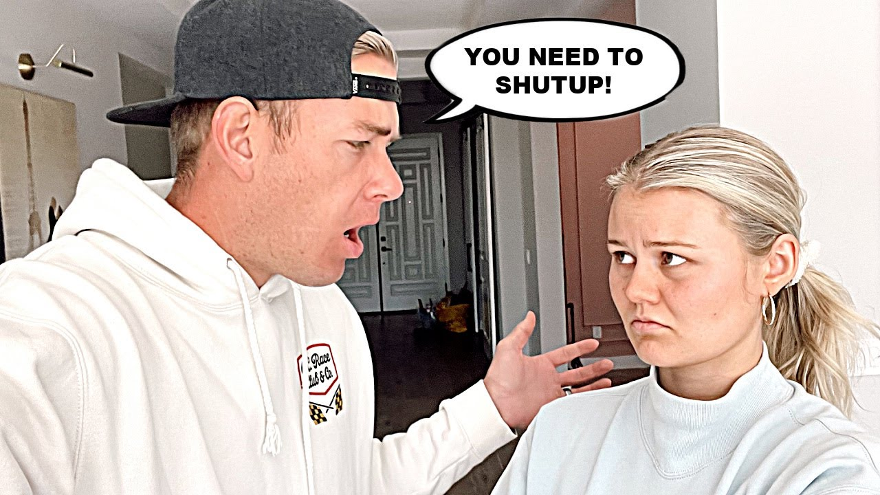 Telling My Wife to SHUT UP! *Bad Idea*