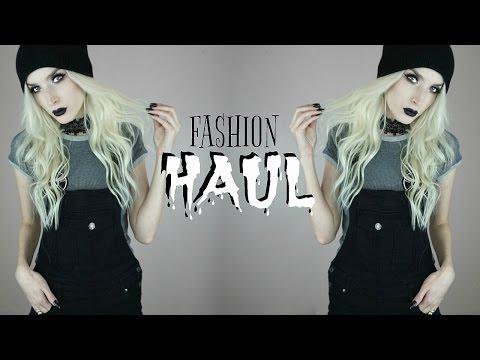 Fashion Haul   Killstar & Boohoo