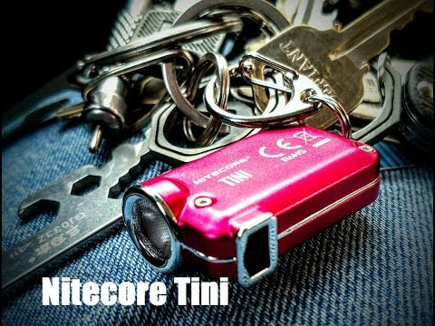Nitecore Tini - can it replace the Tip on my keychain for good?