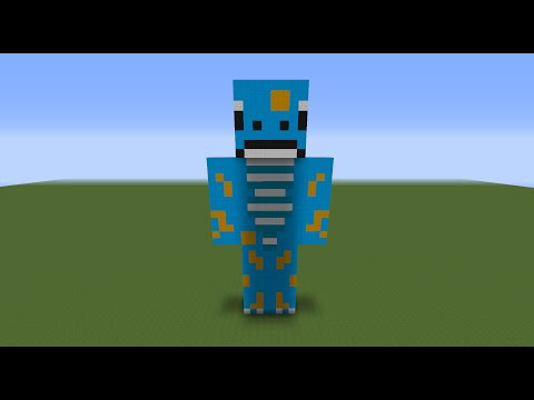 Minecraft Tutorial Ep.8: How To Make A Gecko Statue