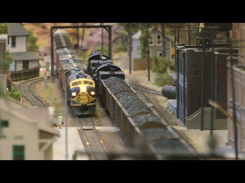 Beautiful Model Railway Layout in HO scale