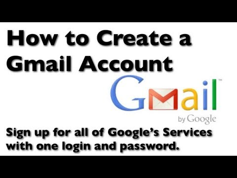 How to Create a Gmail Account for Email
