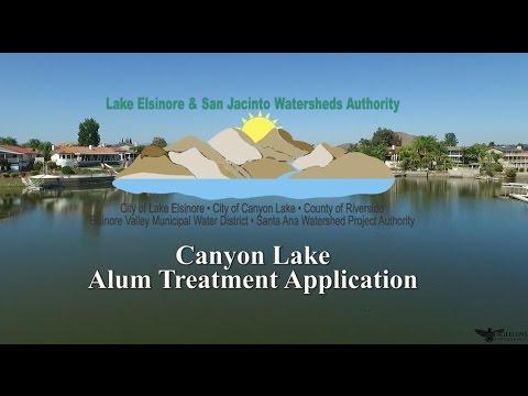 Canyon Lake Alum Treatment