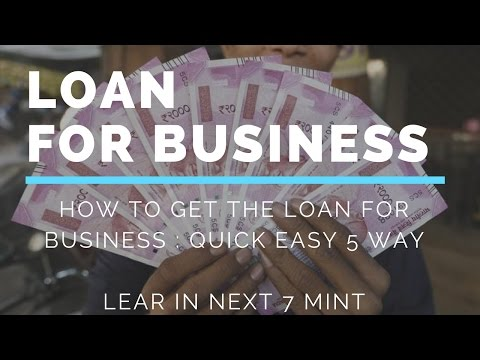 How to raise funds | loan for startup | small business in india | Hindi