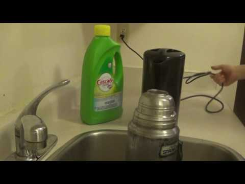 how to clean a stanley thermos bottle