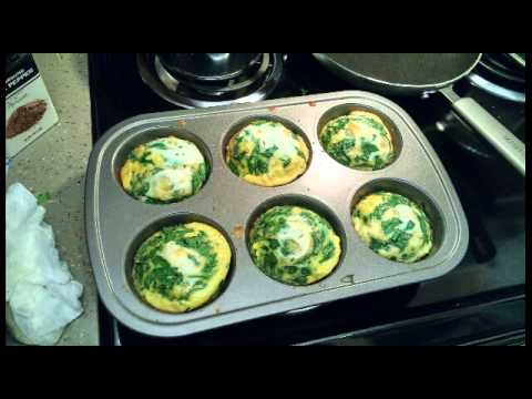 Spinach egg muffins