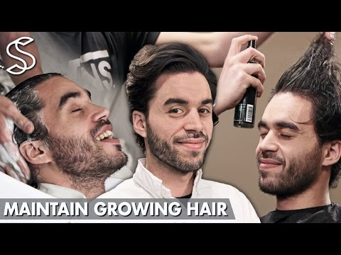 Maintain Growing Hair - How to cut your hair while growing it longer - Men's Hair