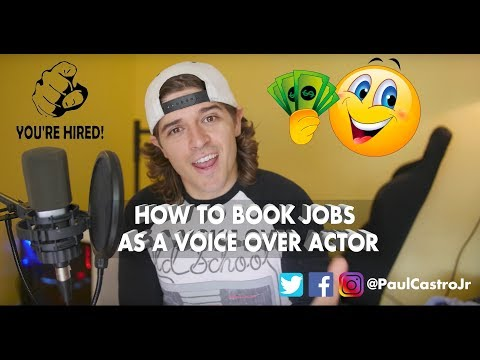 How to book PAID Voice Over jobs as a Voice Actor!