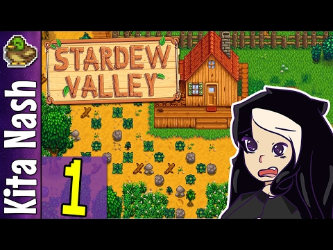 Stardew Valley Gameplay Part 1 - GRANDPA LEFT US THIS?! - Let's Play Walkthrough [PC]
