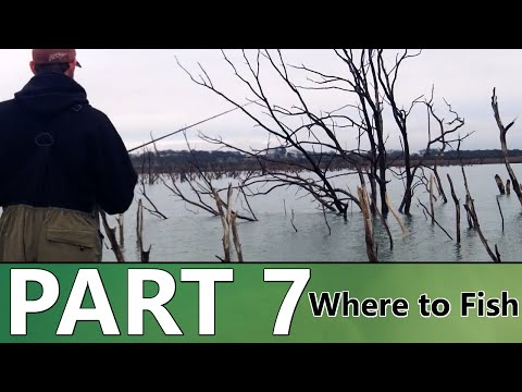 Beginner's Guide to BASS FISHING - Part 7 - Where to Fish