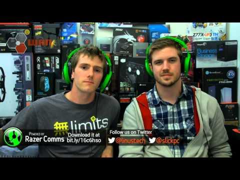 The WAN Show: STEAM Game Sharing, Apple iPhone 5S and 5C GUEST Marques Brownlee - Sept 13, 2013