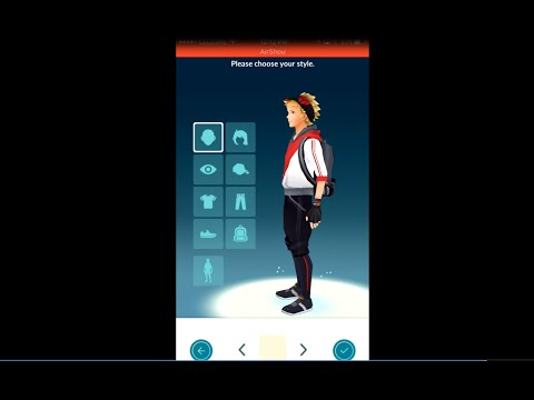 Pokemon Go UPDATE - change clothing