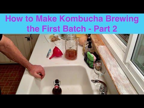 How to Make Kombucha Part 2