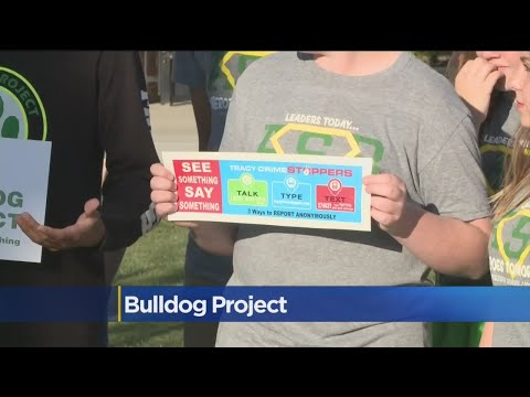 Middle Schoolers Create Signs To Try And Stop Bullying