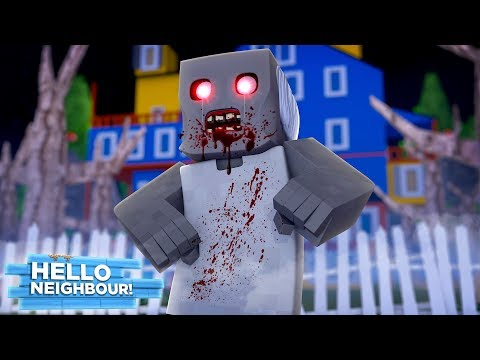 HELLO NEIGHBOUR'S GRANNY IS IN THE HOUSE! - Minecraft Hello Neighbour