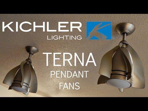 Kichler Terna Pendant Ceiling Fans