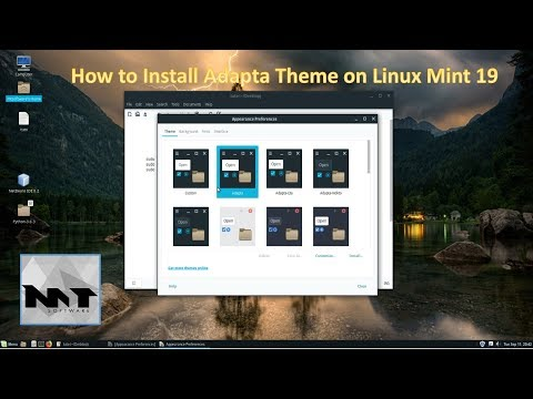 How To Install Adapta Theme on Linux Mint 19