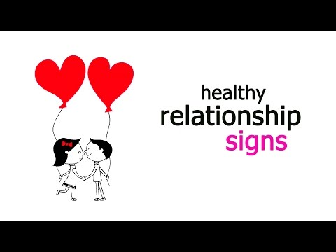 Signs of Building a Healthy Relationship (Boy/Girl)