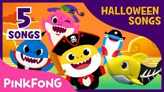 Halloween Baby Shark Compilation   Baby Shark   Halloween Song   Pinkfong Songs for Children