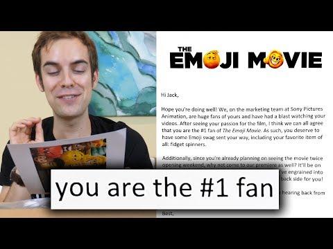 I got invited to the world premiere of The Emoji Movie